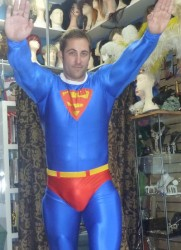 superman costume hire Perth
