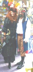 pirate couple costume hire Perth