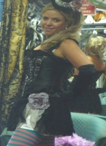 burlesque costume hire Perth