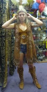 hippie girl costume hire perth