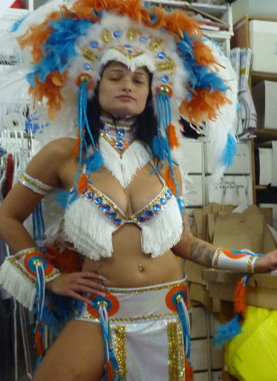 Tribal costume
