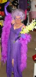 Australiana Dame Edna costume hire Perth