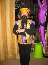Ethnic Fu Man Chu costume hire Perth