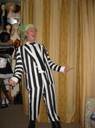 Halloween Beetlejuice costume hire Perth
