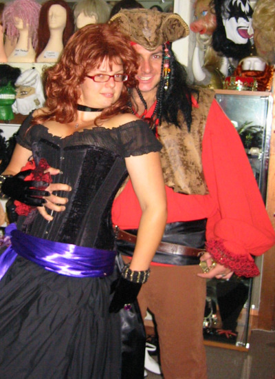 pirate costume hire Perth
