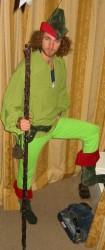 Robin Hood costume Perth Claremont
