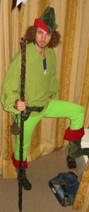 Robin Hood costume Perth Claremont