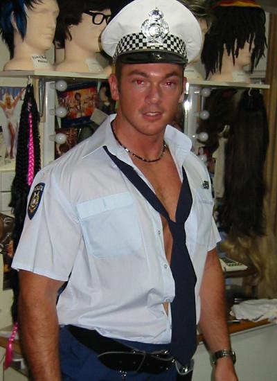 Police Uniform hire Perth Claremont Fancy Dress